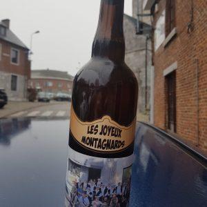 Bière joyeux montagnards