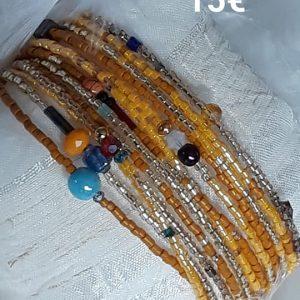 Bracelet Miyuki orange